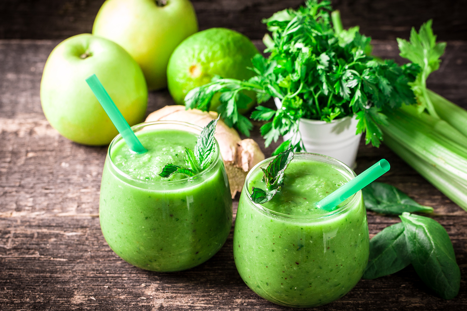 Green Juice Smaller Total Management